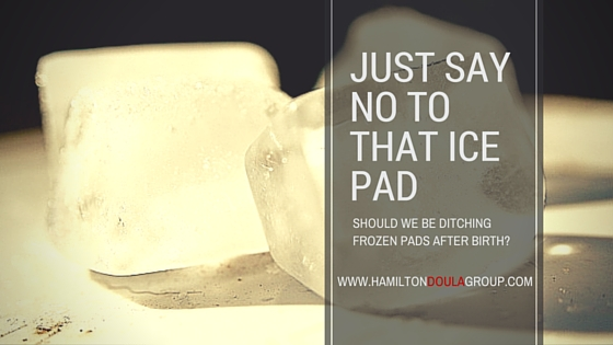 Just Say No To That Ice Pad