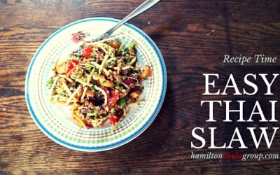 Recipe Time: Easy Thai Slaw
