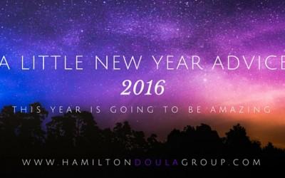 A Little New Year Advice