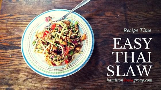 Recipe for Easy Thai Slaw